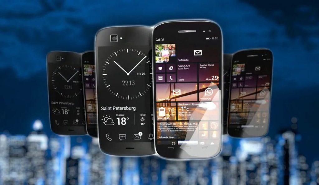 Возможности телефонов с двумя экранами от Yota