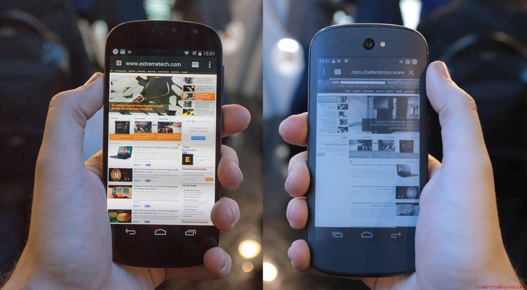Сравнение 2 и 3 модели телефонов