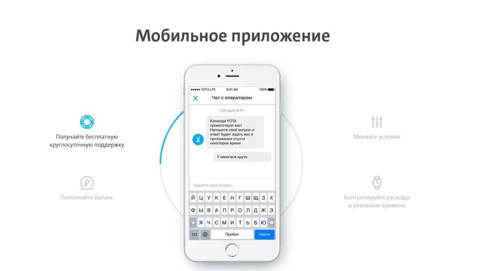 безлимитный интернет на телефон йота