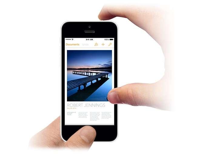 скрин на айфоне