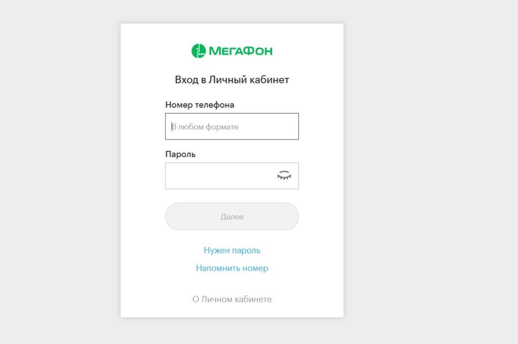 Как делается детализация звонков и СМС в Мегафон