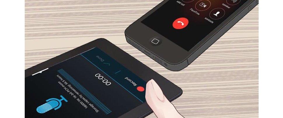 диктофон для айфона с записью телефонного