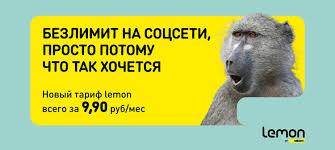 """Тариф """"Лемон"""" от мобильного оператора Беларуси Велком: условия и цены"""