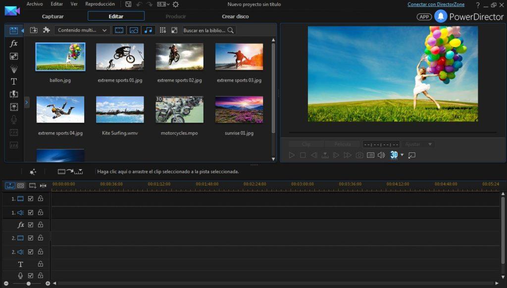 Редактор видео PowerDirector
