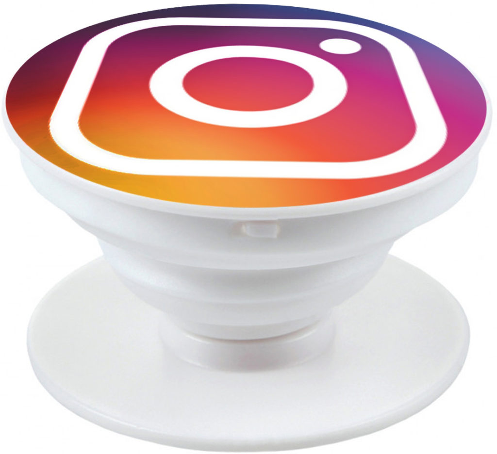 Попсокет с логотипом Instagram