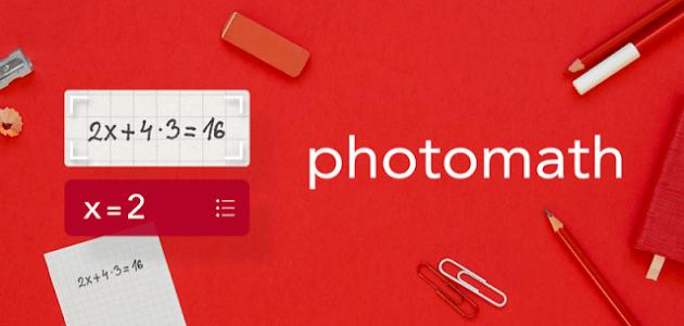 Photomath - приложение для решения примеров и задач по математике