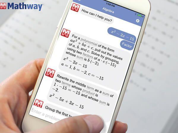 Приложение для решения примеров по математике Mathway