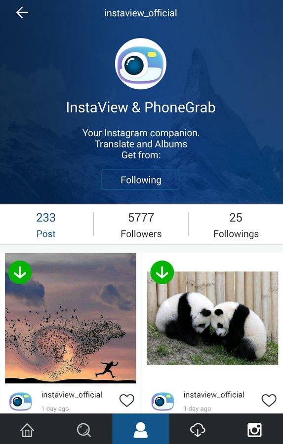 Сервис InstaGrab для скачивание видео с Инстаграма